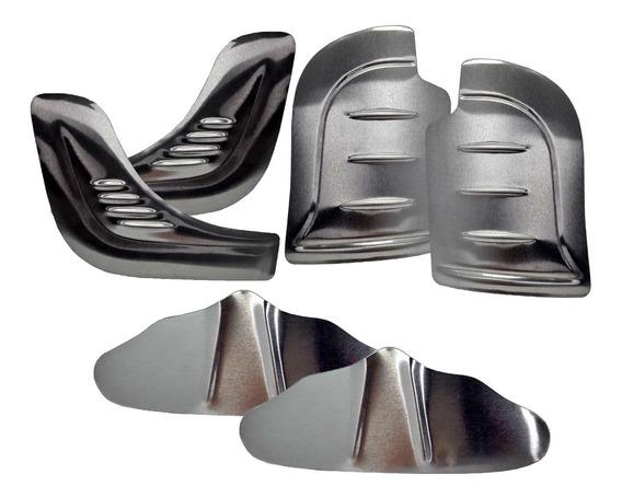 Kit Polaina Fusca 1300 1500 1600 70 A 96 Alumínio 6 Peças