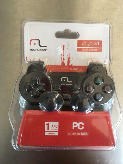 Controle Gamer Pc Usb Multilaser