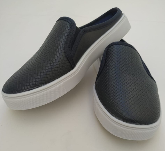Sapato Mule Infantil Couro Combina Com Tudo Top