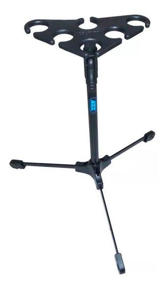 Suporte Descanso Pedestal Para 6 Microfones - M6 Ask