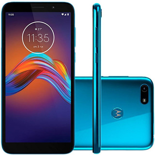 Celular Motorola Moto E6 Play 32gb Azul Metalico Camera 13mp