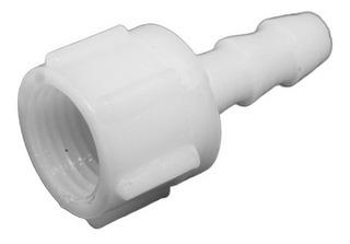 Conector Plástico Rosca H. 1/4 Y Espiga 1/4¨ (10 Unidades)