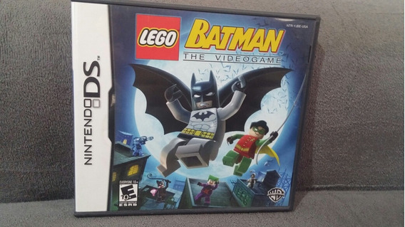 Batman Lega The Video Games Nintendo Ds Completo