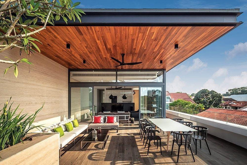 Pergolas Cubiertas Techos Madera Para Terrazas, Roof, Jardín