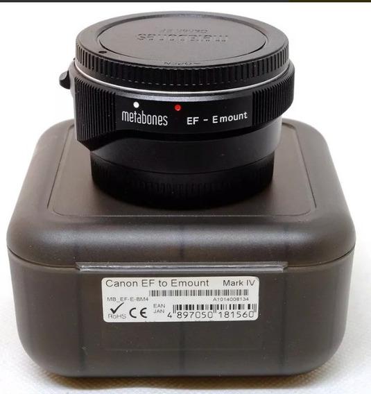 Metabones Mark Iv Adaptador Canon Ef/efs Para Sony E Mount