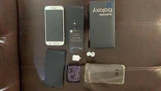 Celular Samsung S7 + Carregar Original Por Indução
