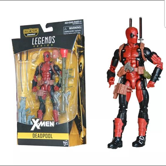 Boneco Deadpool 17cm Marvel Legends Frete Grátis