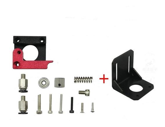 Kit Extrusora 3d Printer 1.75mm Reprap + Suporte Do Motor