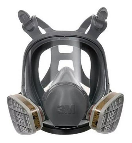Respirador Full Face 3m Ref. 9800 Mascara Gases Lacrimogenos