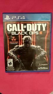 Call Of Duty Black Ops Iii Ps4 (poco Uso)