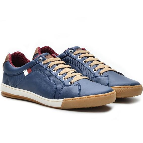 Sapatênis Casual Azul Marinho Roma Over Boots