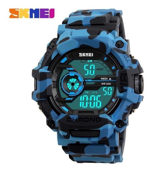 Relógio Masculino Skmei Digital 1233 Várias Cores Com Caixa