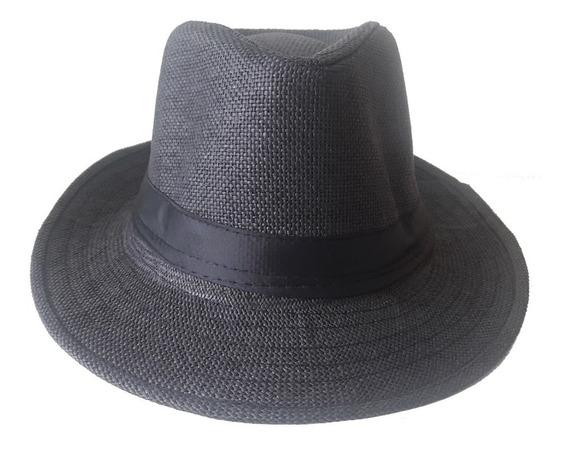 Chapéu Modelo Panamá Estilo Classico Social Fino Acabamento