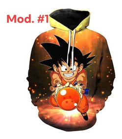 Sudadera Dragon Ball 3d
