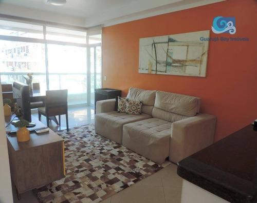 Imagem 1 de 30 de Apartamento Com 3 Dormitórios À Venda, 100 M² Por R$ 650.000,00 - Praia Da Enseada - Guarujá/sp - Ap4678