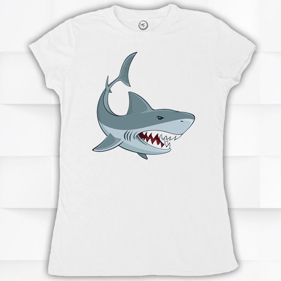 Blusa / Playera Hombre O Mujer Tiburon #625