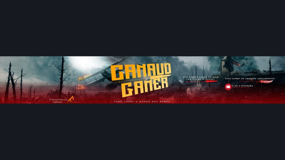 Banner Para Youtube Profissional