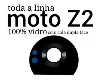 Lente De Vidro Câmera Película Moto Z2