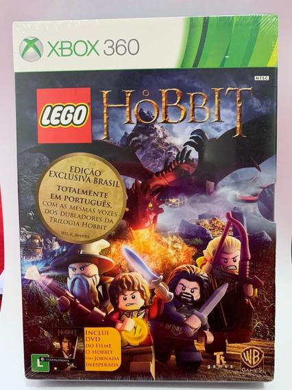 Lego: O Hobbit (jogo + Filme) - Xbox 360 -novo-lacrado