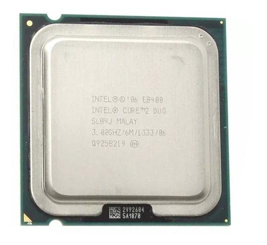 Processador Core 2 Duo E8400 Intel 3.00ghz Lga775 Usado