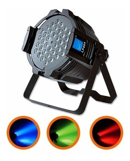 Tacho Led Big Dipper Lp004 36 Leds X 1w. Rgb 7 Canales