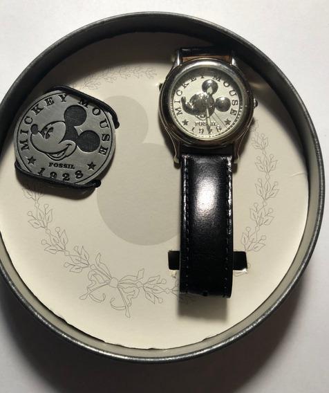 Relógio De Pulso Fossil - Edição 70 Anos Mickey Mouse