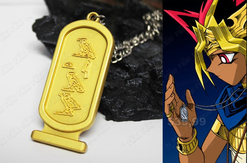 Collar Anime Yu-gi-oh Placa Faraón (tienda Friki)