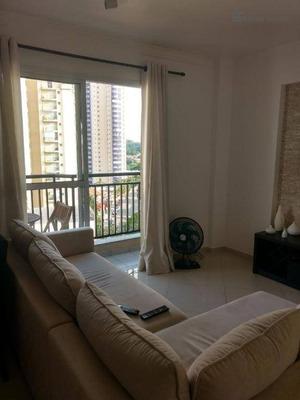 Lindo Apartamento Com Suíte Residencial À Venda, Bela Vista, Osasco. - Ap0008