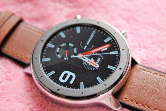 Smartwatch Amazfit Gtr 47m A1902, Acompanha Pulseira Extra.