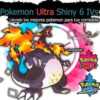 Pokemon Shiny Espada Y Escudo 6ivs Competitivos + Regalos