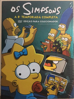 Box Original : Os Simpsons - 8ª Temporada - 4 Dvd