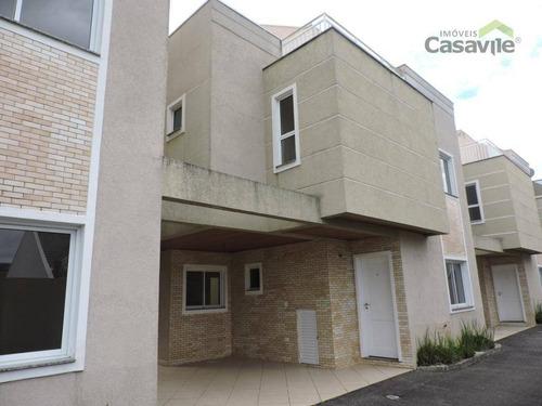 Sobrado Com 3 Dormitórios À Venda, 148 M² Por R$ 545.000 - Atuba - Curitiba/pr - So0060