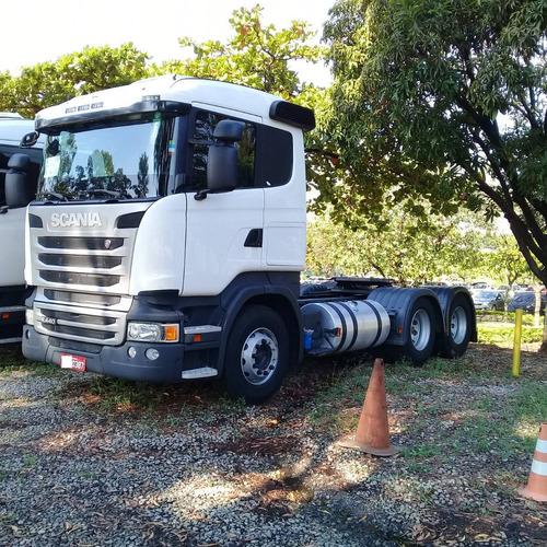 Scania R 440 6x2 Com Retarder Pouco Rodada 0387