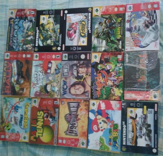 Caixinhas Para Guardar Jogos N 64 Tenho Vários Títulos
