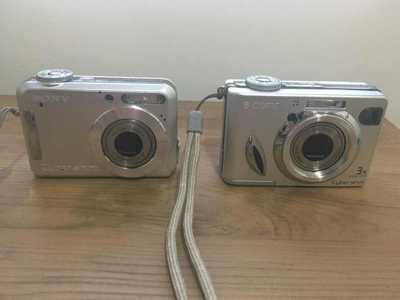 2 Câmeras Sony Cybershot W7 E S700 No Estado.