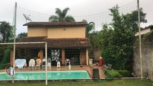 Chácara Com 2 Dormitórios À Venda, 1000 M² Por R$ 420.000,00 - Portal Das Águas - Ibiúna/sp - Ch0024