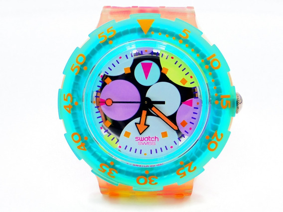 Swatch Scuba Sea Grapes 200m Sdk105