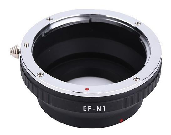 Anel Adaptador Lente Canon Ef Ef-s Eos-nikon1 1 N1 J1 J2 J3