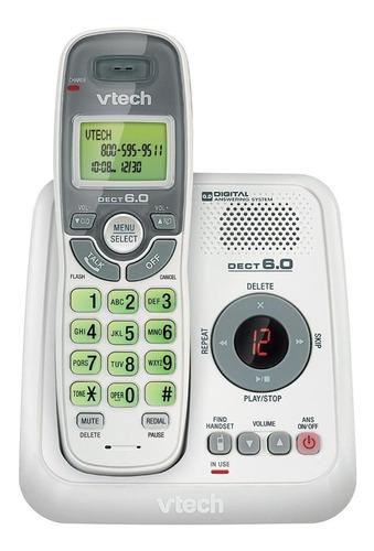 Imagen 1 de 2 de Teléfono inalámbrico VTech CS6124 blanco