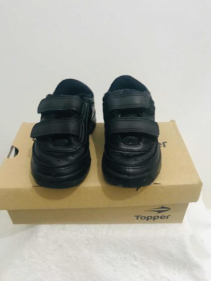 Zapatillas Negras Niños Impecables!!!