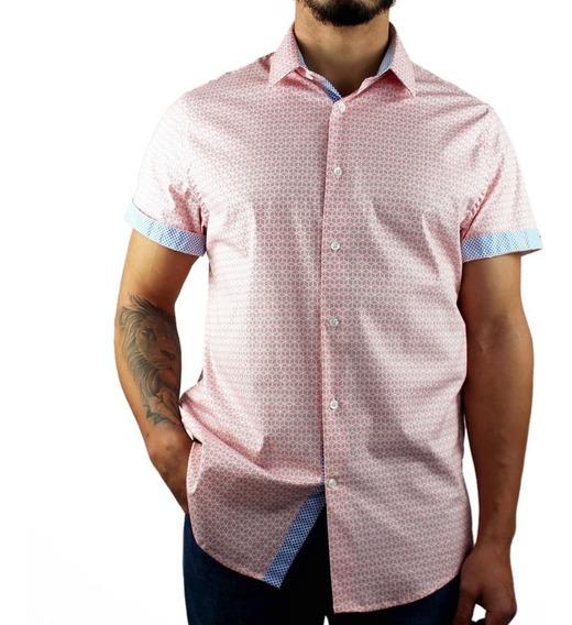 Camisa Para Hombre Manga Corta Casual
