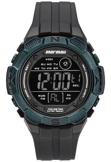 Relógio Mormaii Masculino Digital Fundo Negativo Mo2908aa/8v