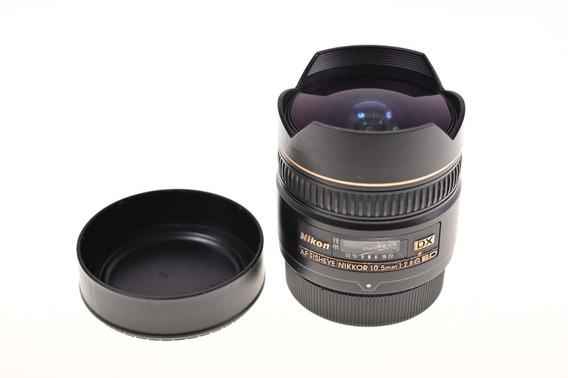 Lente Nikon 10.5mm Grande Angular 2.8 Ed - Apsc