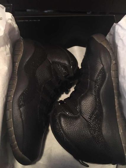 Jordan 10 Ovo Black 8mx-10us