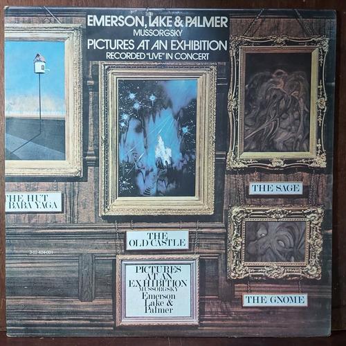 Vinil Lp Emerson Lake E Palmer Pictures At An Exhibition