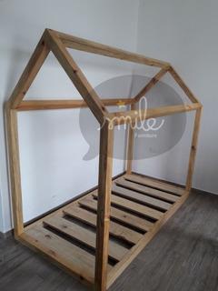 Cama Infantil Individual Montessori.- House