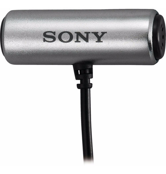 Microfone Ecm-cs3 Sony Lapela - Temos Loja