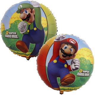 Globo Metalizado Mario Bros