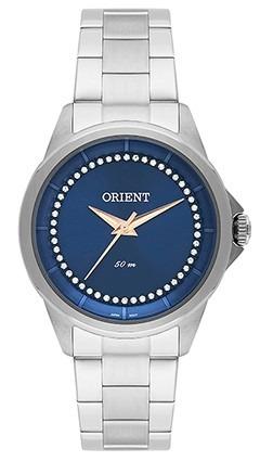 Relógio Orient Feminino Visor Azul Fbss0056 + Frete