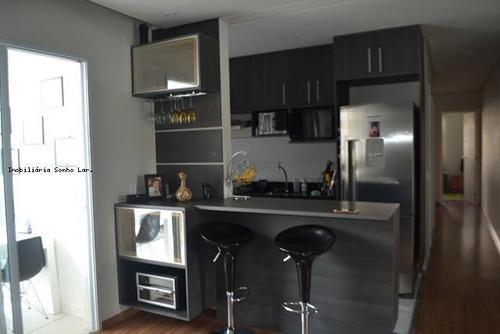 Apartamento Para Venda Em Osasco, Novo Osasco, 3 Dormitórios, 1 Suíte, 2 Banheiros, 1 Vaga - 8371_2-728914
